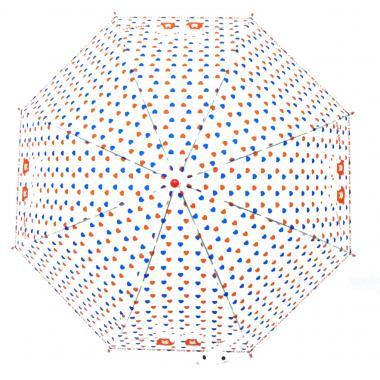 д зонт 2213-407 сердечки красн