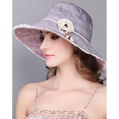 ж шляпа 2213-40 F1209-1 кружево цветок сирень