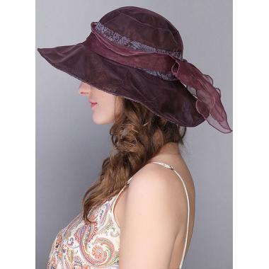 ж шляпа 2213-51 1706 гипюр бант вино