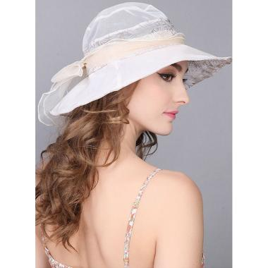 ж шляпа 2213-51 1706 гипюр бант св.беж