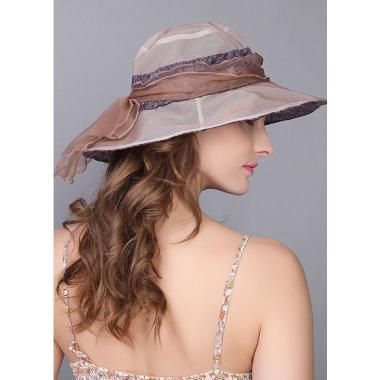 ж шляпа 2213-51 1706 гипюр бант коричн