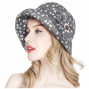 ж шляпа 2213-38 F1223-6 мотылек т.беж