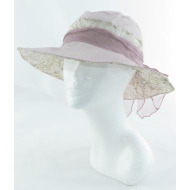 ж шляпа 2213-51 1706 гипюр бант св.розов