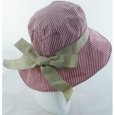 ж шляпа 2213-26 YF929 полоса бордо