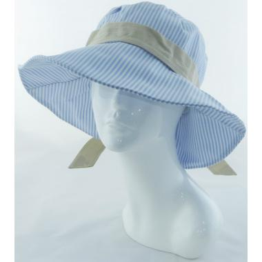 ж шляпа 2213-26 YF929 полоса голуб