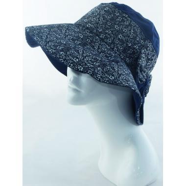 ж шляпа 2213-27 YF1717 цветы син