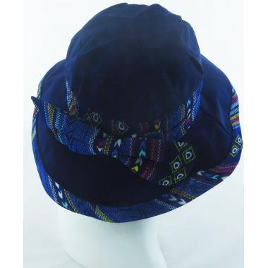 ж шляпа 2213-29 YF1708 бант син