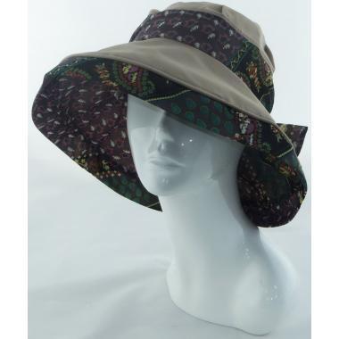 ж шляпа 2213-29 YF1708 бант какао