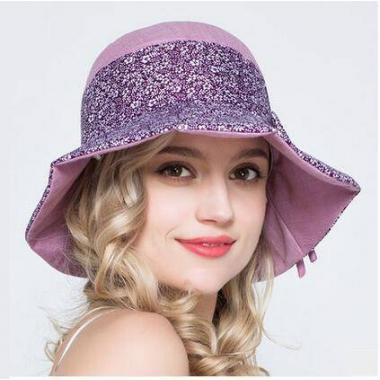 ж шляпа 2213-27 YF1717 цветы сирень