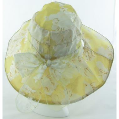 ж шляпа 2213-21 YF1705 цветы св.беж