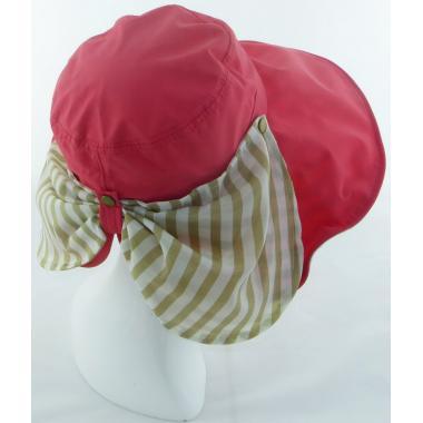 ж шляпа 2213-39 F1622 бант сзади коралл