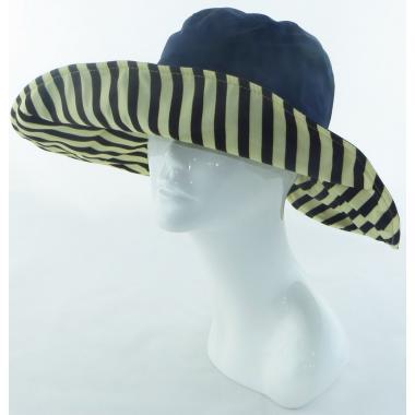 ж шляпа 2213-39 F1622 бант сзади т.син