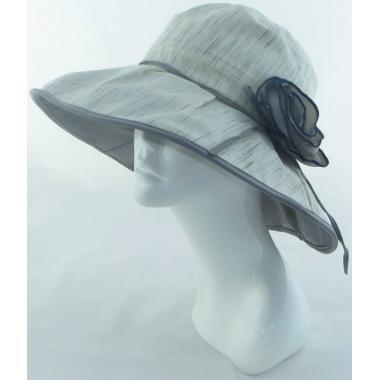 ж шляпа 2213-25 YF1709 цветок сер