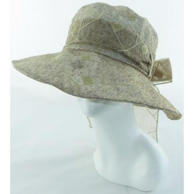 ж шляпа 2213-35 1736 вышивка песок